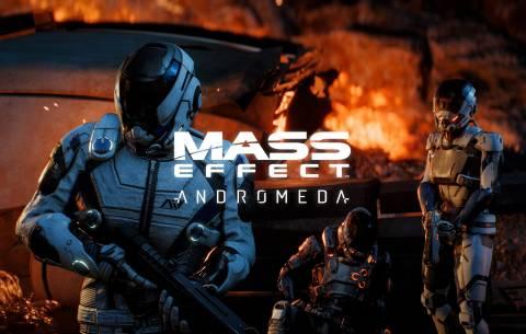 Découverte de la galaxie Andromeda avec Mass Effect