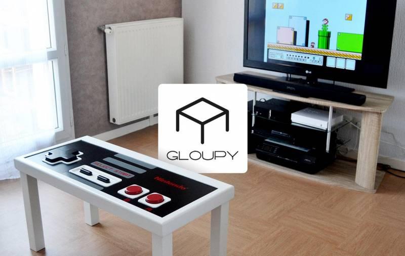 Mobilier Geek : les tables basses Gloupy d'Antone